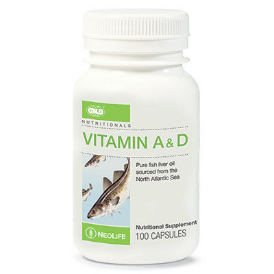 GNLD Neolife Vitamin A & D (100 capsules)