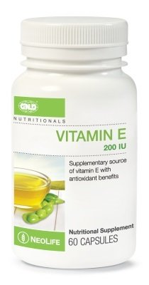 GNLD Vitamin E 200 i.u (60 Capsules)
