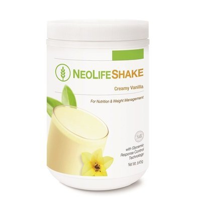 GNLD NeoLifeShake Creamy Vanilla [Daily nutrition and weight management]