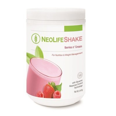 GNLD NeoLifeShake Berries n Cream [Daily nutrition and weight management]