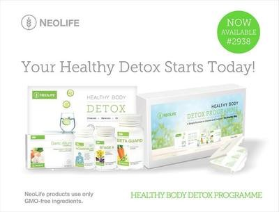 Neolife 3-Day Detox - a Simple Way to Cleanse, Balance and Energise