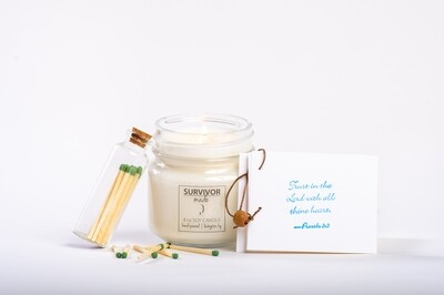Candle & Matches Gift Set