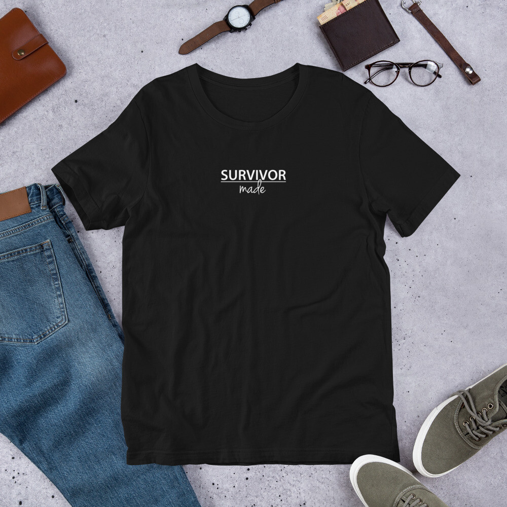 Survivor Made Logo Short-Sleeve Unisex T-Shirt