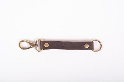 Leather Strap Keychain