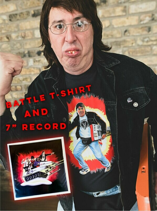 Battle Bundle   |  T-Shirt and 7-Inch Record
