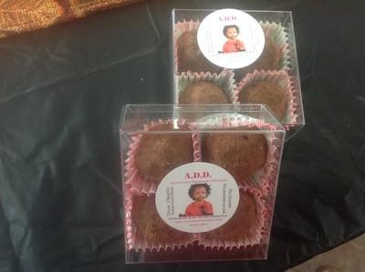 Chocolate Energy/Sexy Balls (box of 4)
