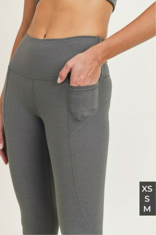 Essential Highwaist- Grey