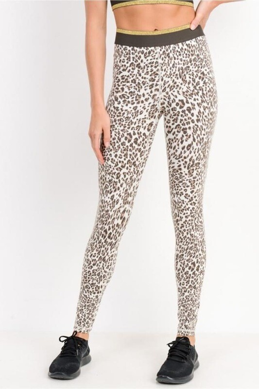 Snow Jaguar Leggings