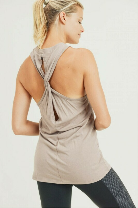 Twist Racerback Tank top