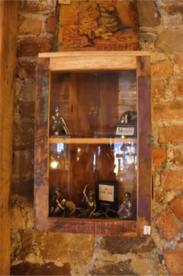Recycled Wooden Medicine Cabinet