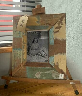 Wooden Vintage Photo Frame - Recycled