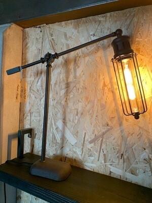Table Lamp - Rust