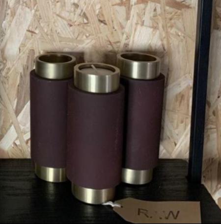 Tea Light Holder 6cmx15cm