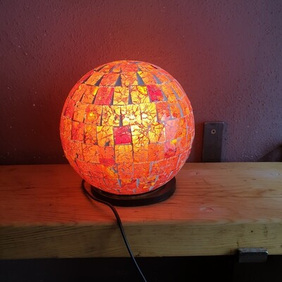 Red Ball Lamp