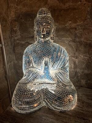 Buddha Mosaic Lamp 60cm