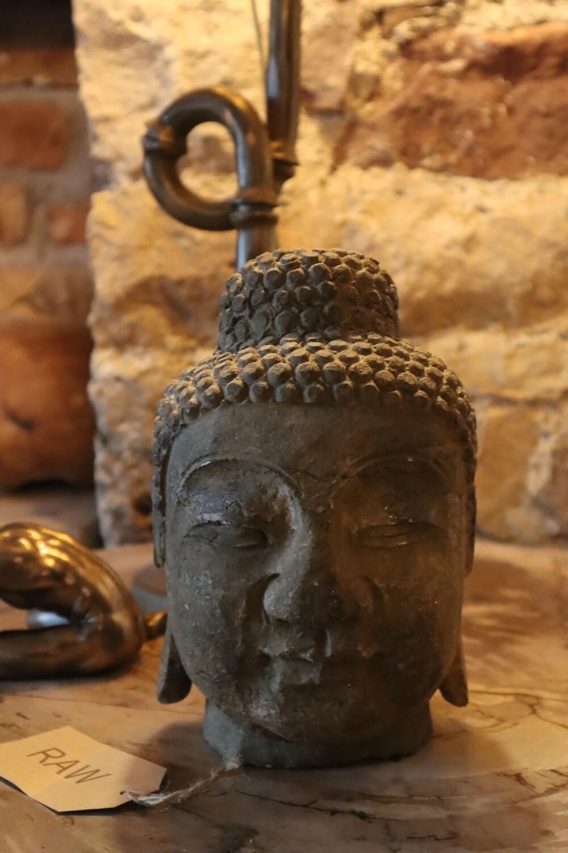 Stone Budha Head