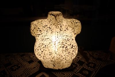 Bust Lamp 30cm