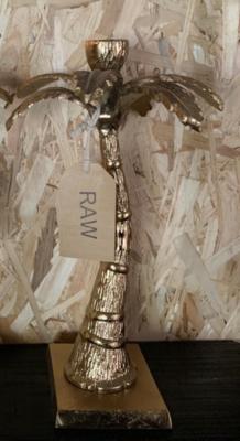 Candle holder - TAXA gold, Ø21x32 cm