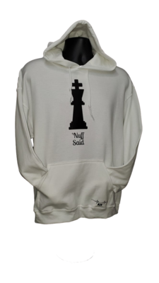 """Kold Hearted - """"King - Nuff Said"""" Pullover Hoodie"""