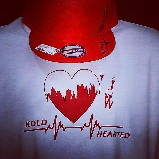 "Kold Hearted - ""Bold Statement"" T-Shirt"