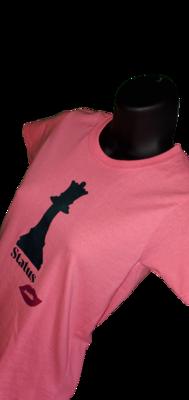 """""""Queen Status"""" Women's T-Shirt"""