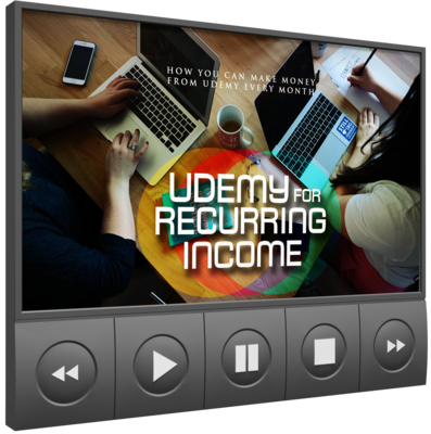 How To  generate significant passive income from Udemy