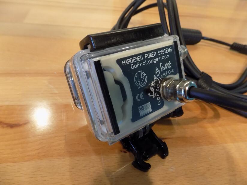 LongShot G4 MK2 GoPro Battery Eliminator
