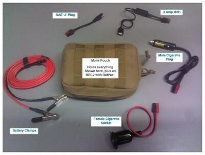 Power Pole Accessory Bundle + BatPac RBC2