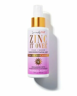 ZINC IT OVER Sunscreen Mist
