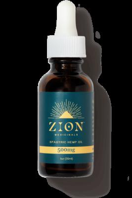 Zion Medicinals 500 mg Spagyric Hemp Oil Bundle 1