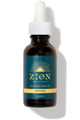 Zion Medicinals 500 mg Spagyric Hemp Oil