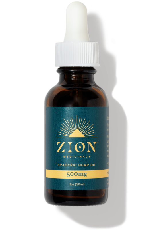Zion Medicinals Spagyric Hemp Oil Bundle 3