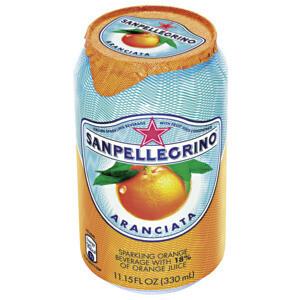 San Pellegrino aranciata, lattina 33 cl