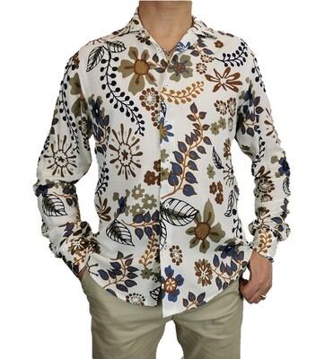 Camicia Viscosa Fantasia