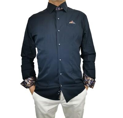 Camicia Cotone con Taschino Fantasia