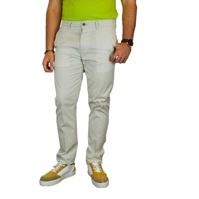 Pantalone Royal Cup Micro Fantasia Bianco