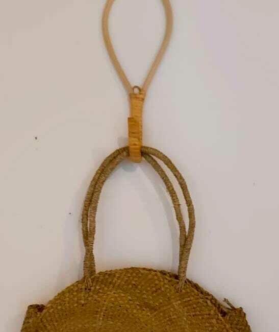 Bamboo coat rack hook
