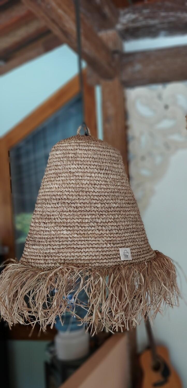 Bohemian handmade hanging lamp