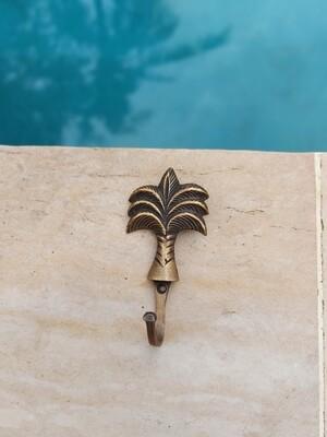 Brass palmtree hook