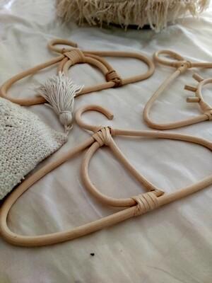 Bamboo kids clothes hanger - GANTUNGAN