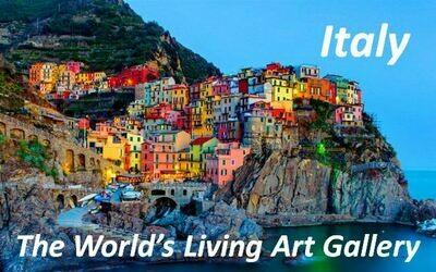 Italy - The World's Living Art Gallery DVD