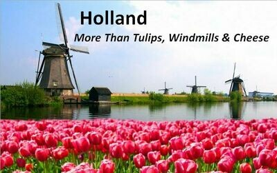Holland - More than Tulips, Windmills & Cheese DVD