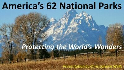 All 62 US National Parks - DVD