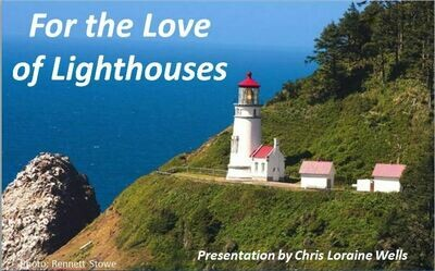For the Love of Lighthouses DVD