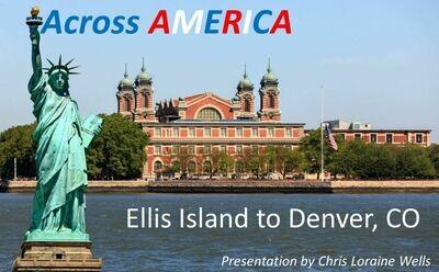 Across America - Ellis Island to Denver, CO DVD