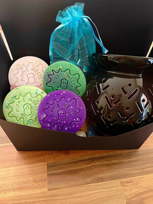 Black Burner Gift Set