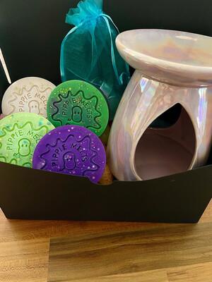 Pink Pearlescent Burner - Gift Set
