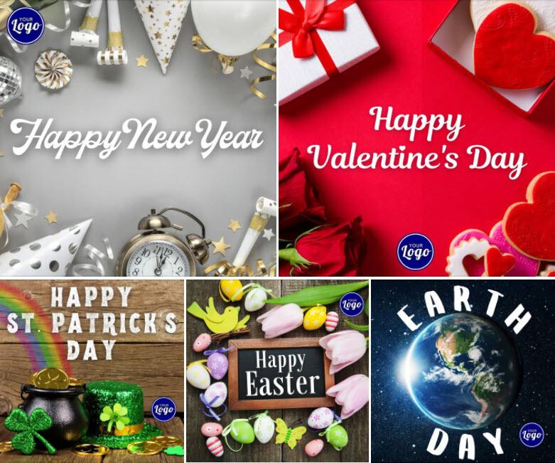Holiday Social Media Graphics