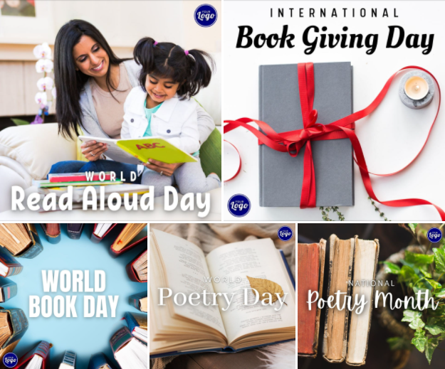 Holiday Social Media Graphics - POETRY