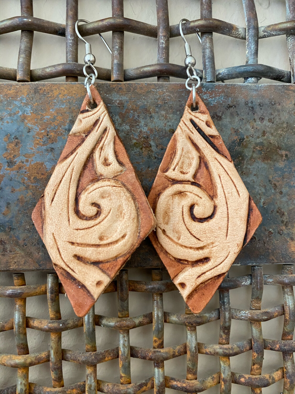 Western Scroll Earrings